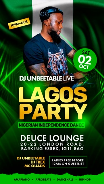 "DJ Unbeetable Live "" NIGERIAN INDEPENDENCE DANCE"""