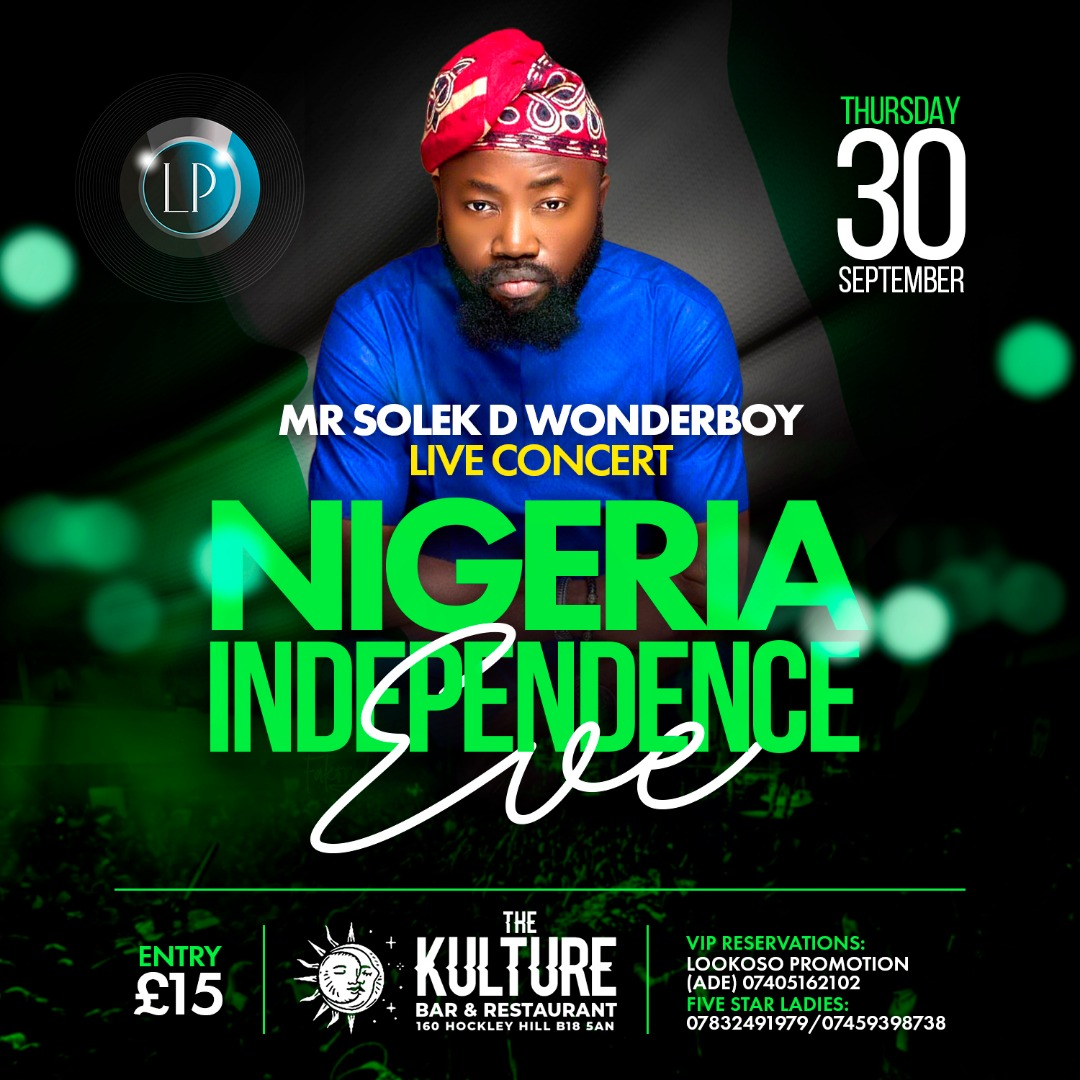 NIGERIA INDEPENDENCE EVE 💚🤍💚
