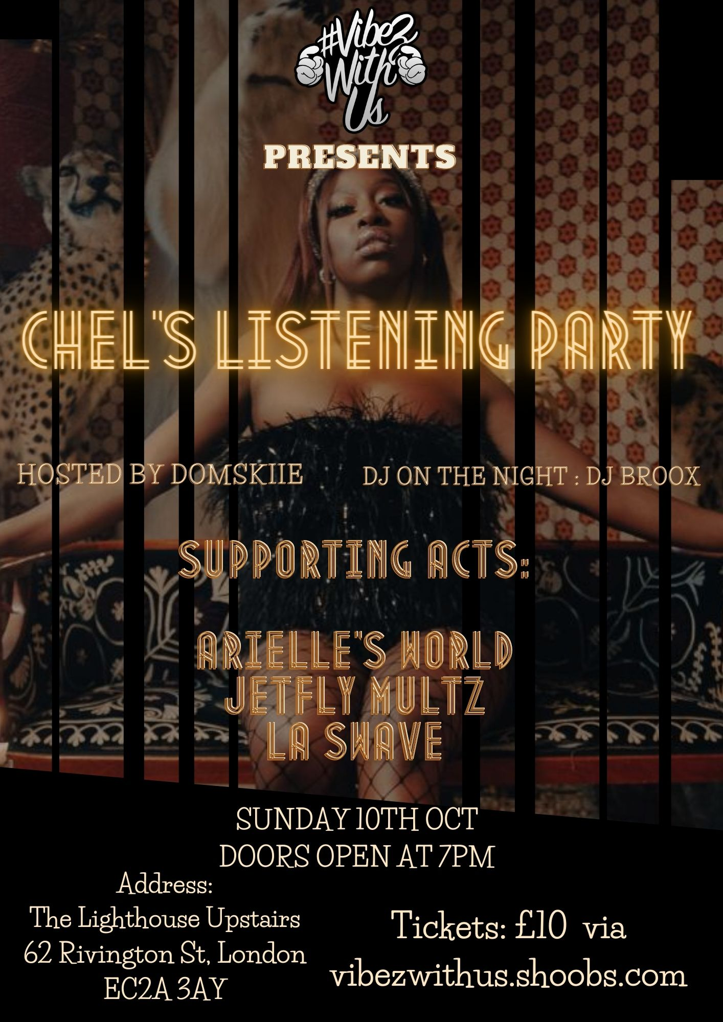 Chel's Listening Party