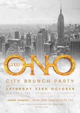 ONO LONDON - City Brunch Party