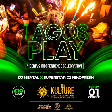 Lagos Play.Nigeria's  Independence Party B'ham.