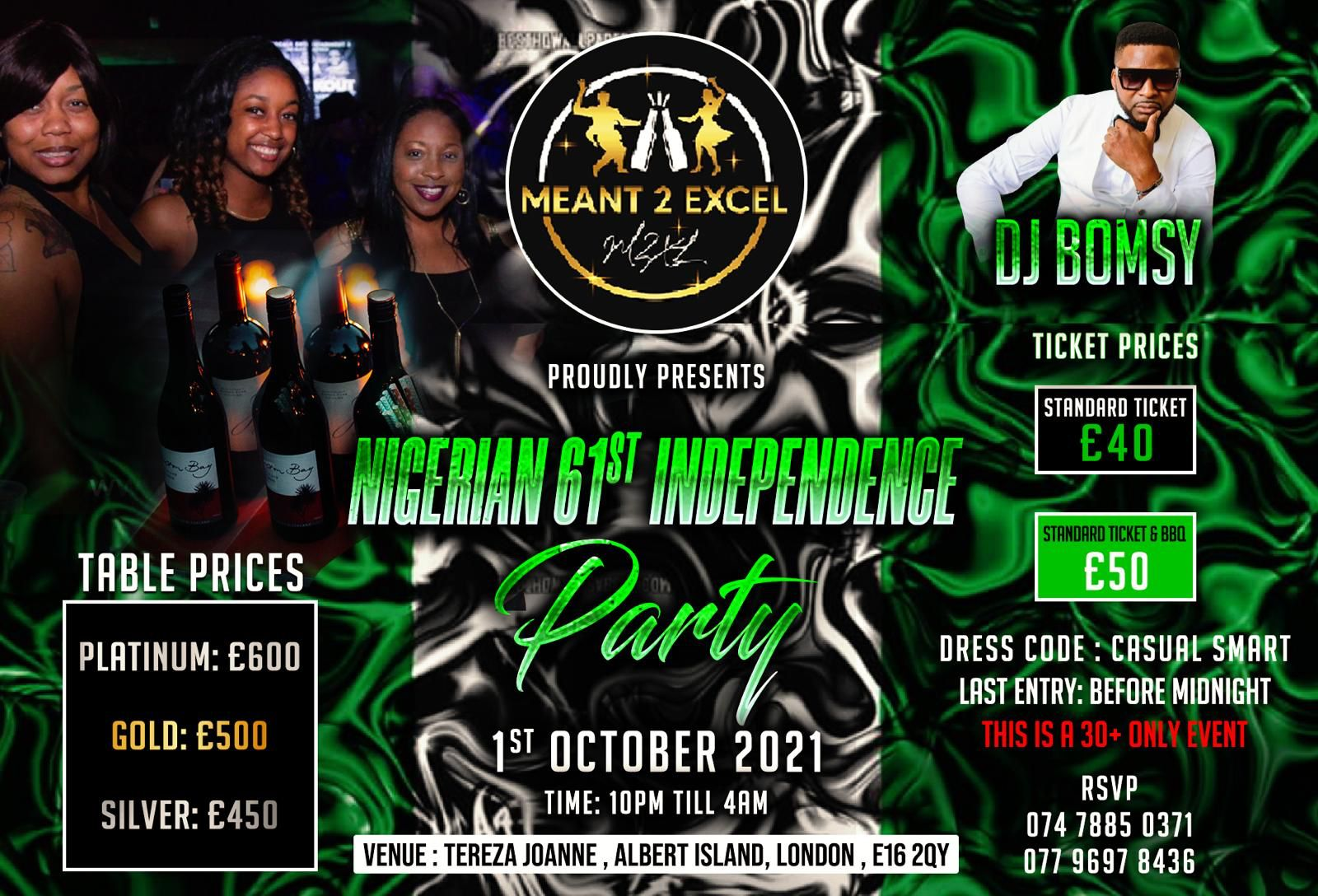 Nigerian 61st Independence Day Boat Party