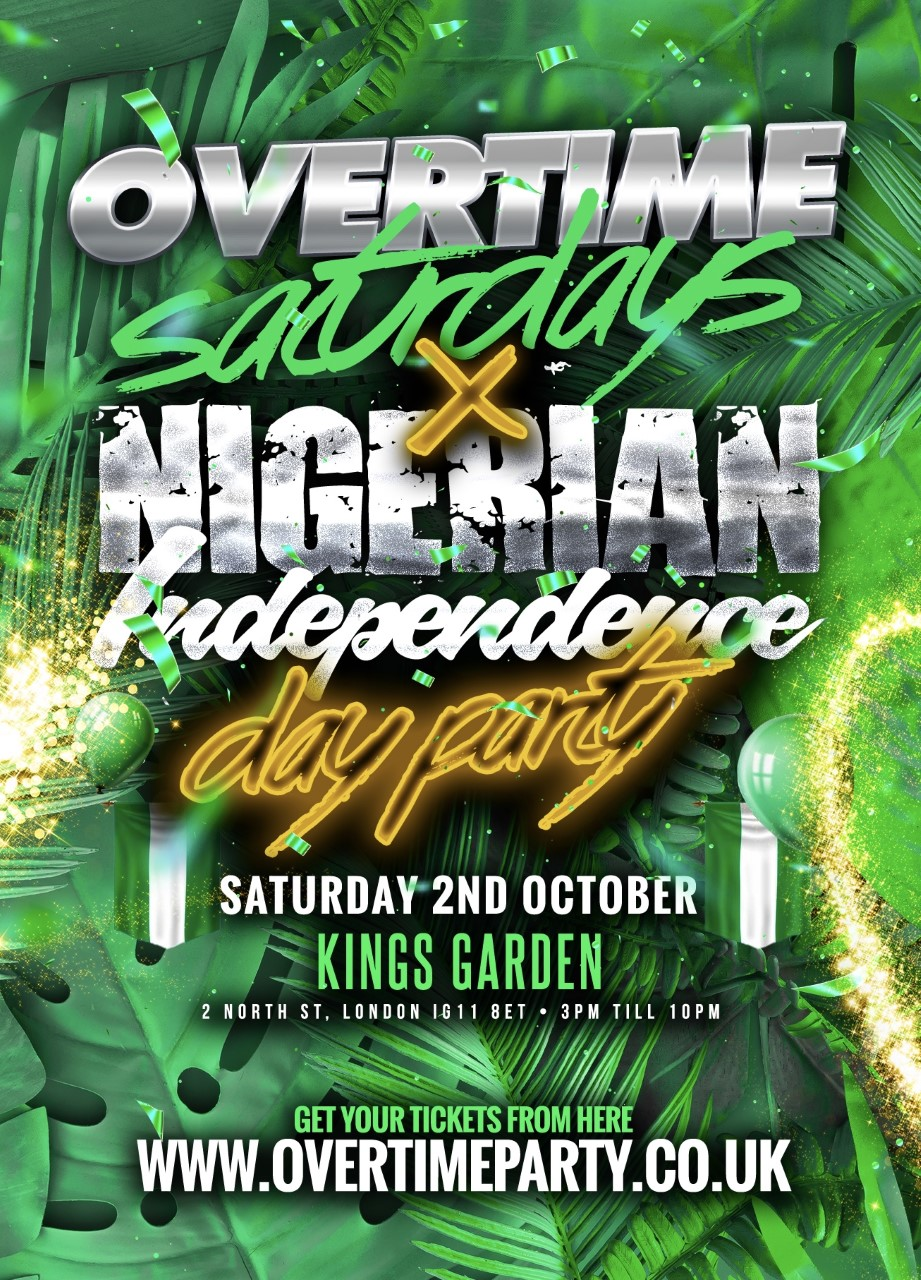 Overtime Saturdays Meets Nigerian Indepdence