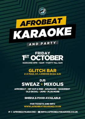 AFROBEAT KARAOKE & PARTY