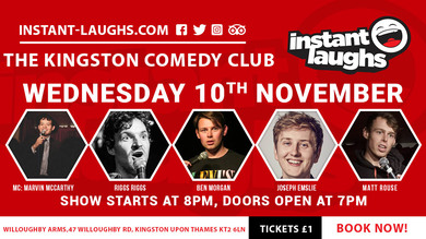 Stand up comedy in Kingston