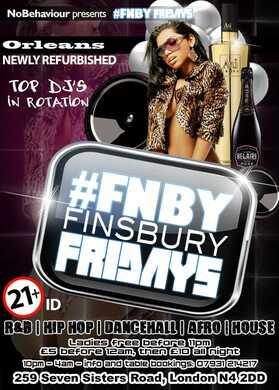 #FNBY Finsbury Fridays