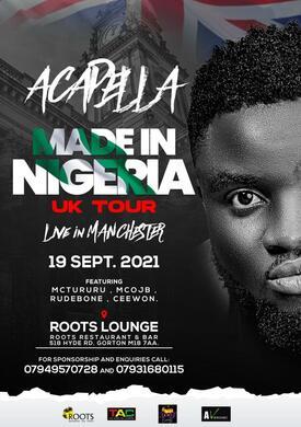 Acapella Made In Nigeria UK Tour