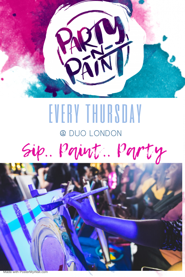 Party n Paint @Duo London