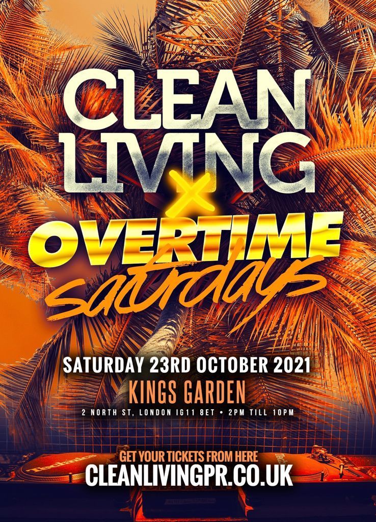 CLEAN LIVING DAY PARTY