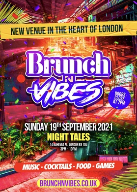 Brunch N Vibes - Summer Closing Party