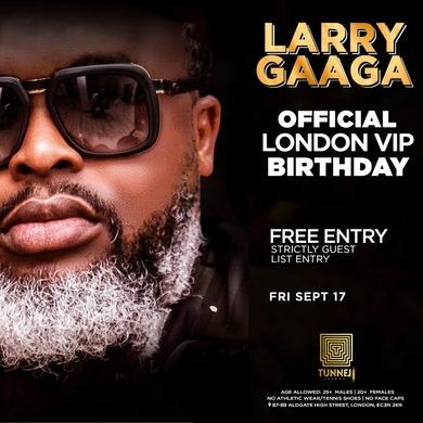 Larry Gaaga Hosts Lagos Fridays