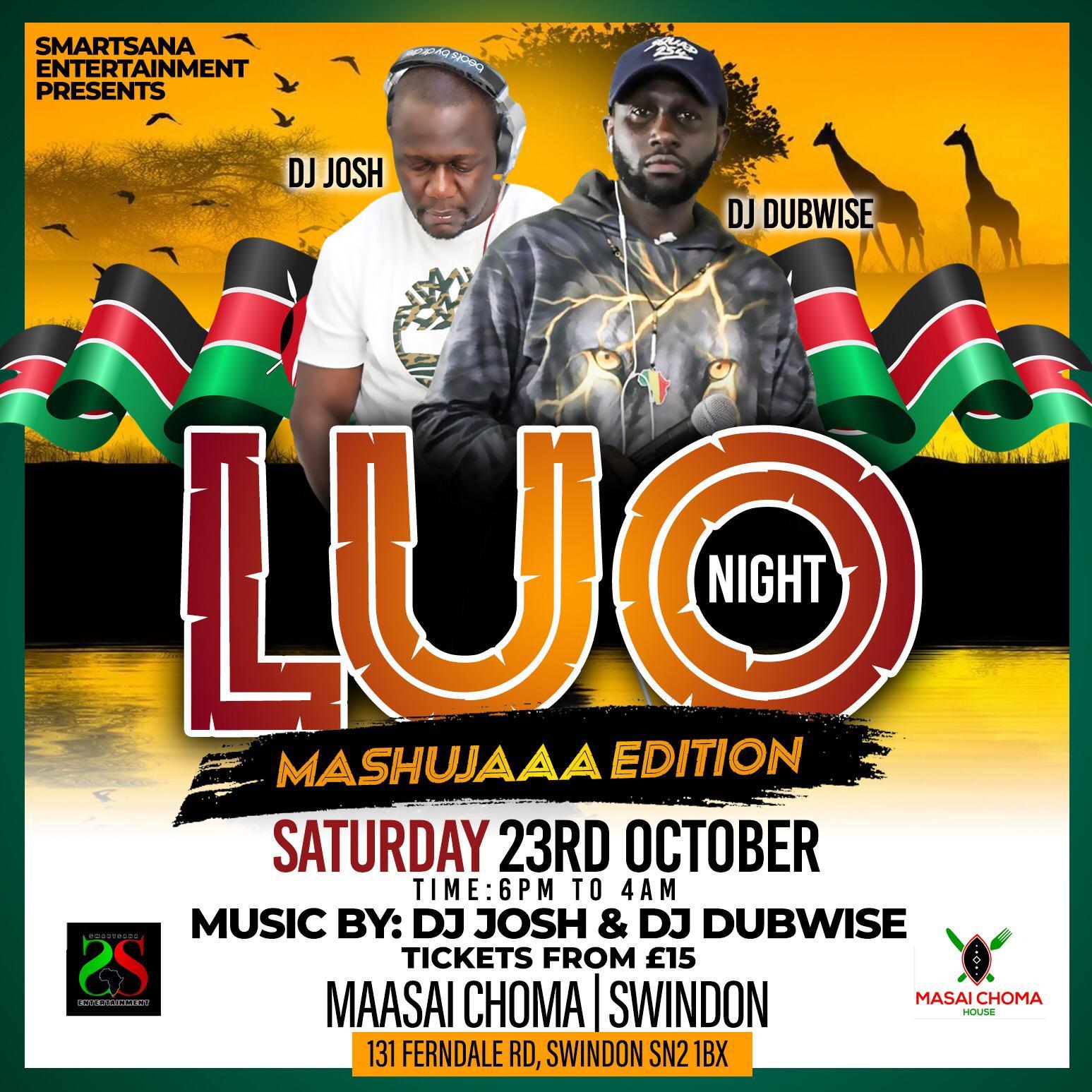 LUO NIGHT/Mashujaa Edition