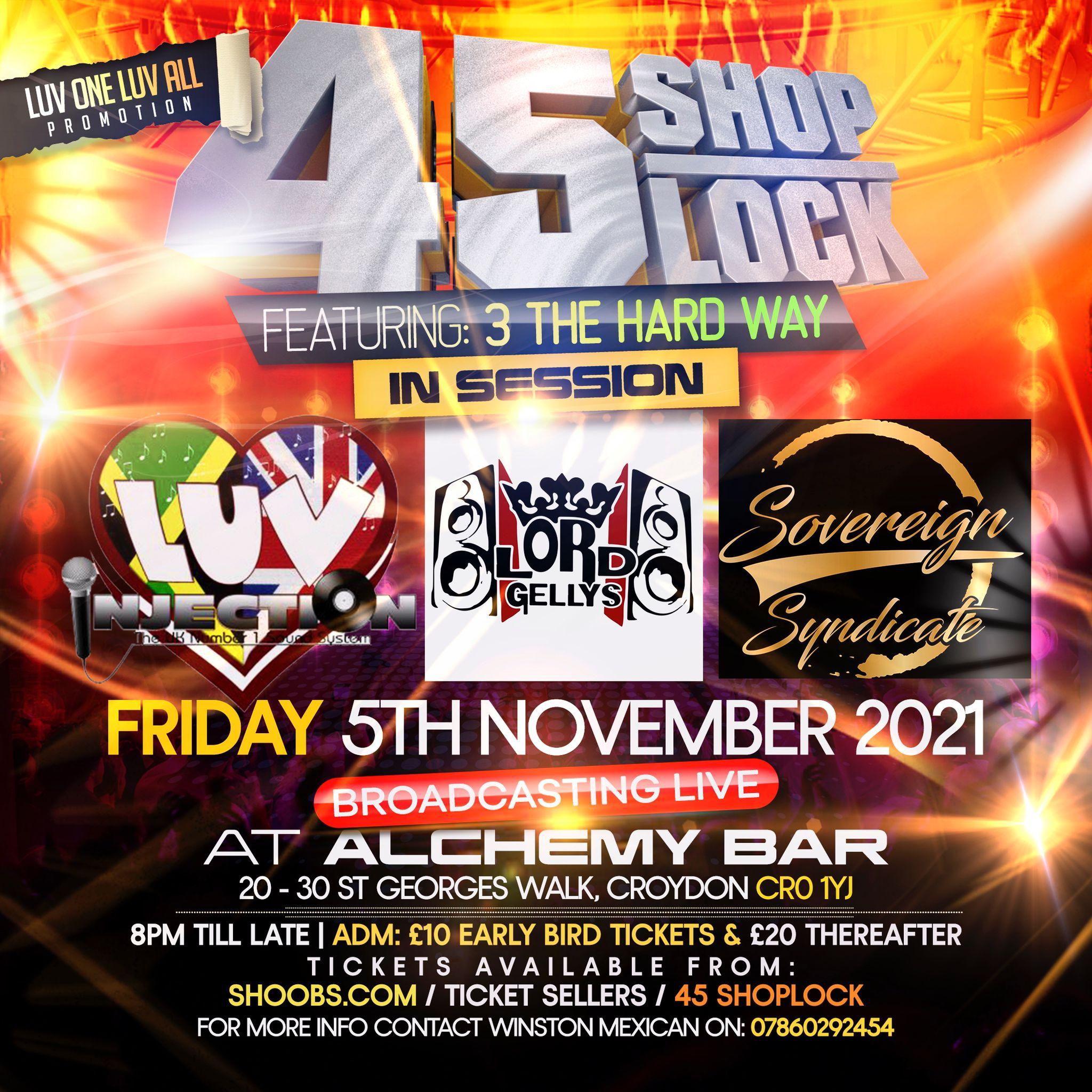45 Shop Lock 3 The Hardway