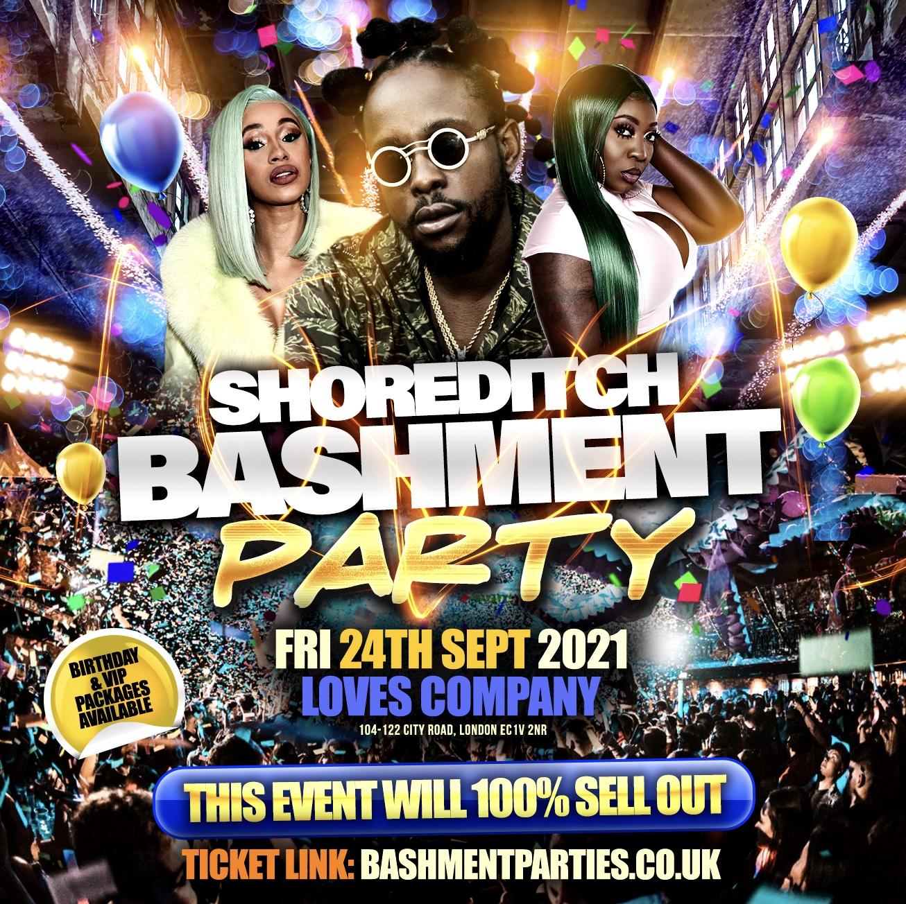 Shoreditch Bashment Party