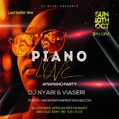 PIANO LOVE AMAPIANO PARTY