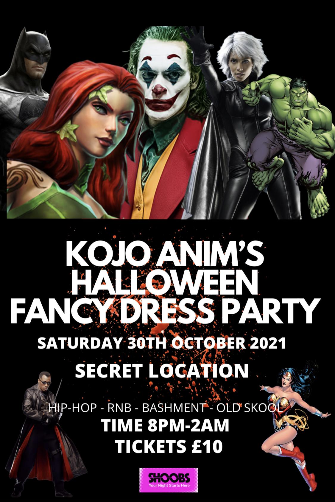 KOJO ANIM'S HALLOWEEN FANCY DRESS PARTY