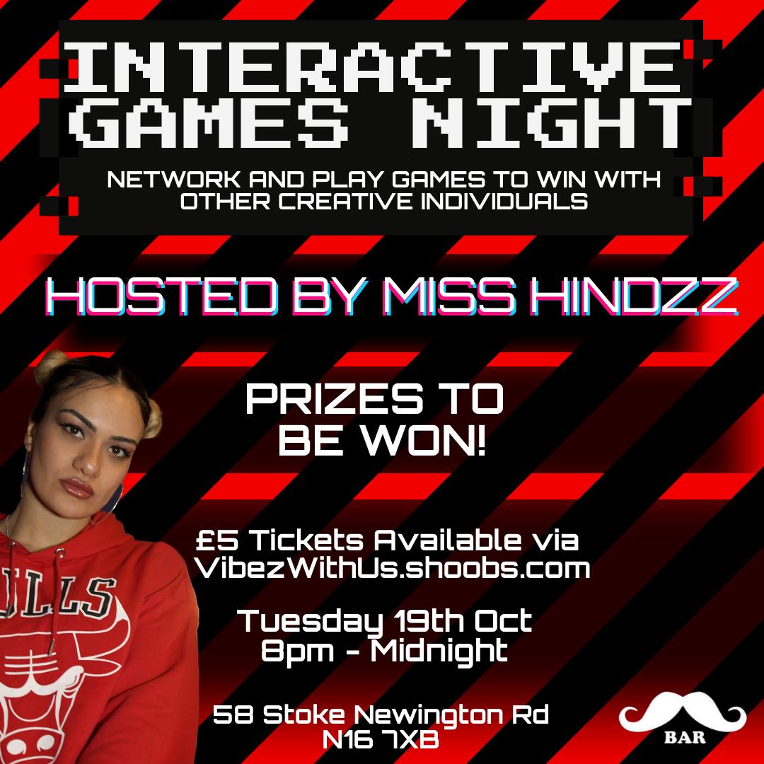 Interactive Games Night
