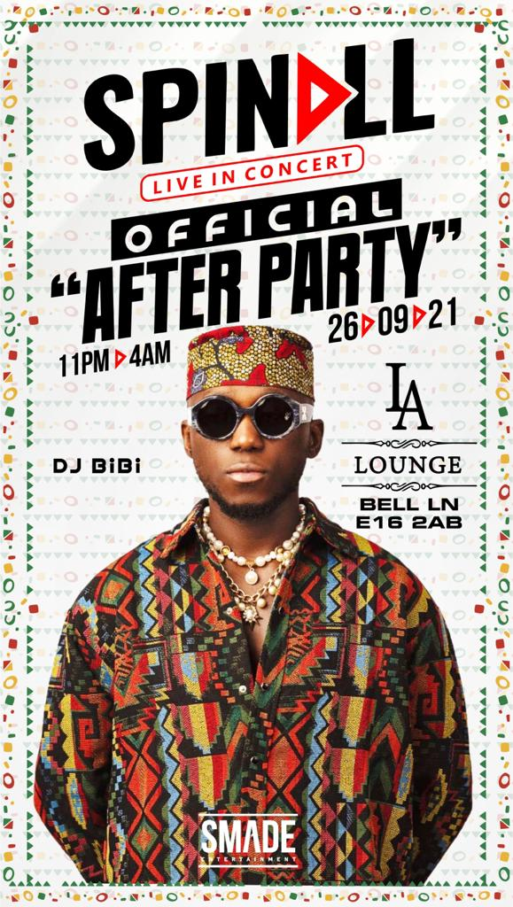 SPINALL: OFFICIAL AFTER PARTY