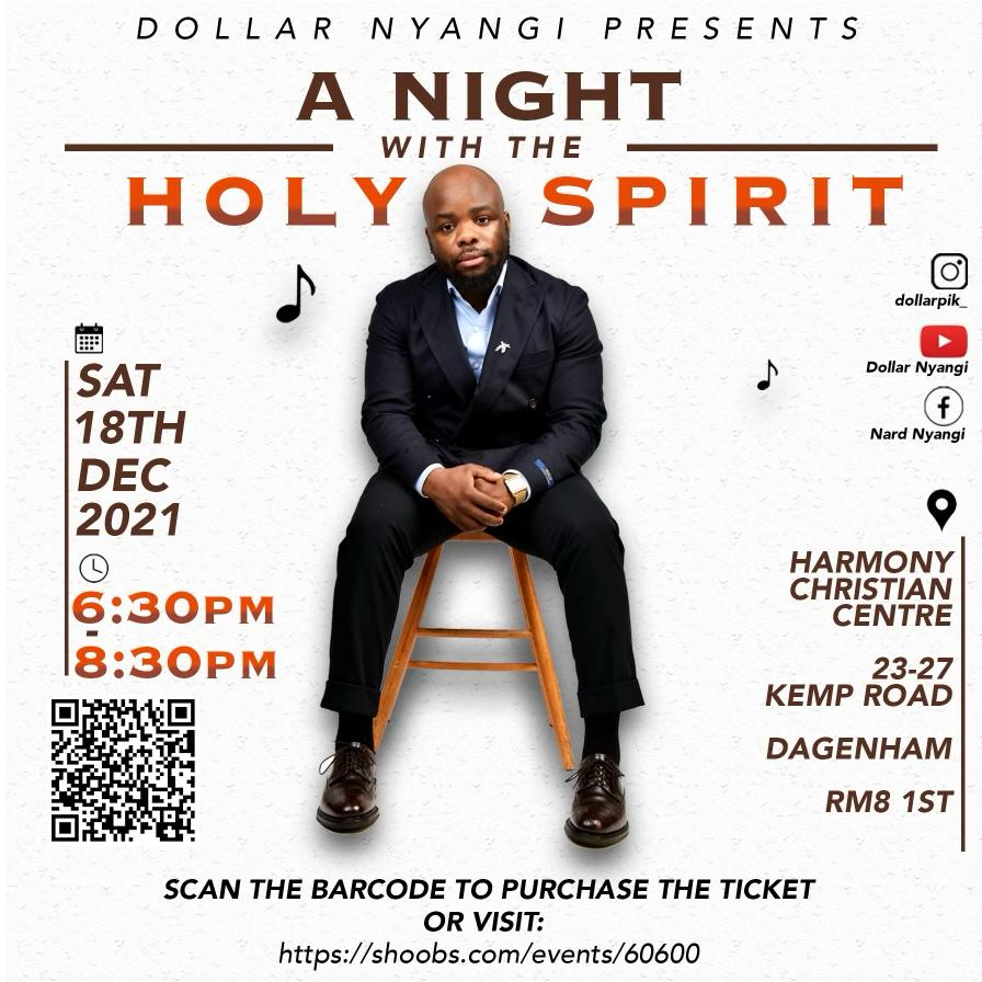 Dollar Nyangi presents  A night with the Holy Spirit