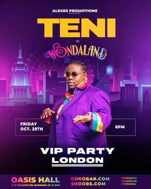 A NIGHT WITH TENI IN LONDON