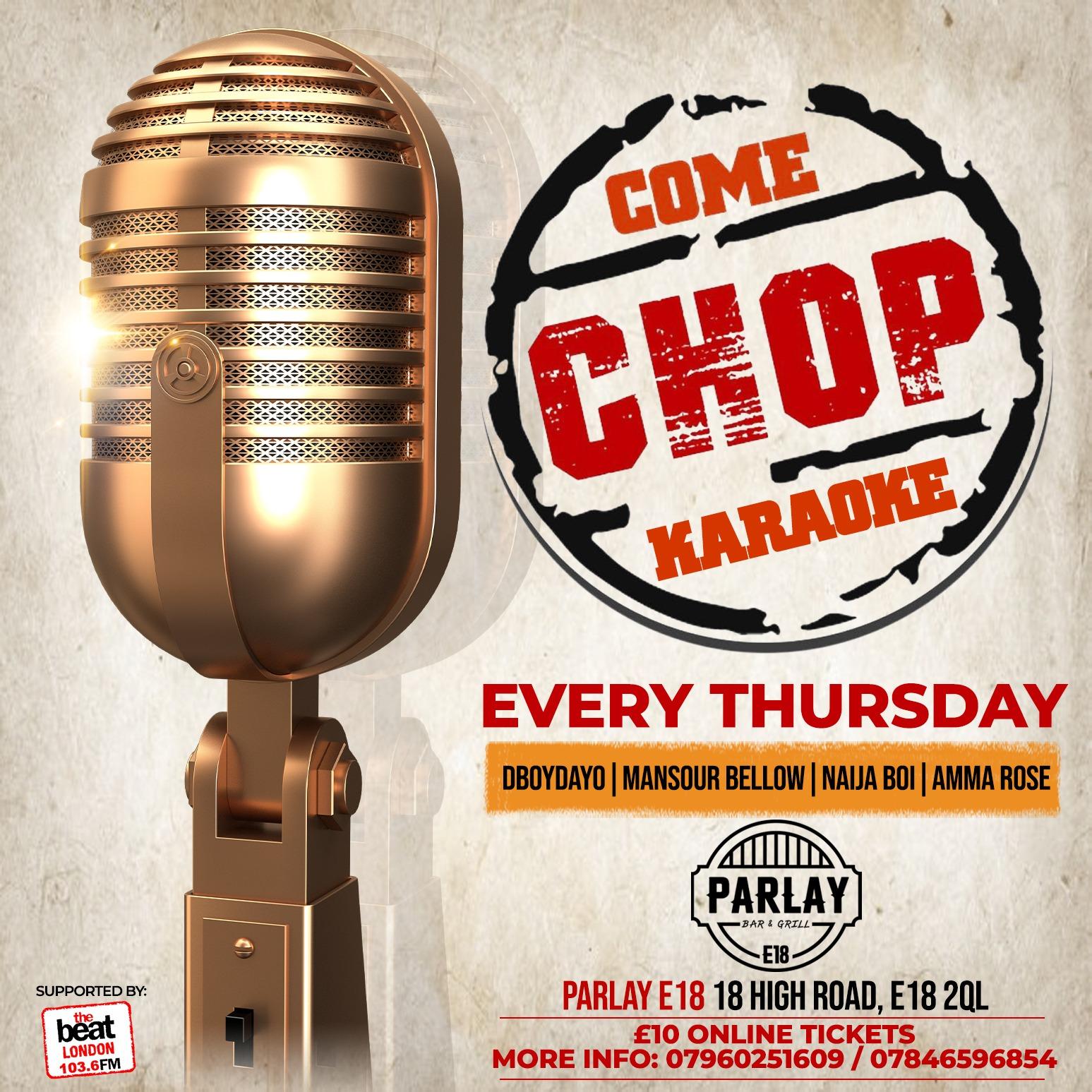 Come Chop Karaoke