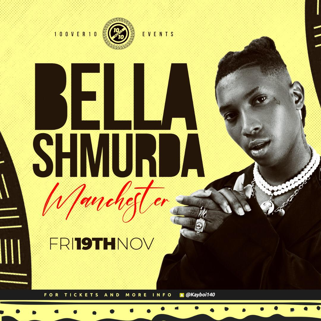 Bella Shmurda live in Manchester
