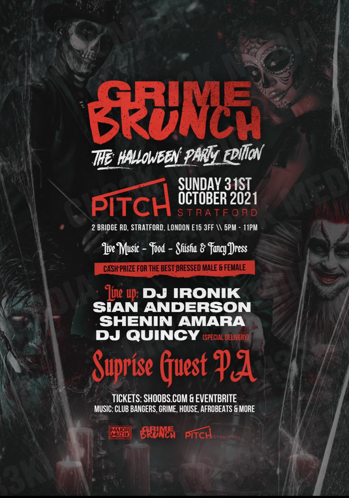 Grime Brunch - Halloween Party