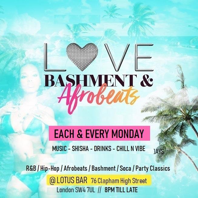 Love Bashment & Afrobeats Party