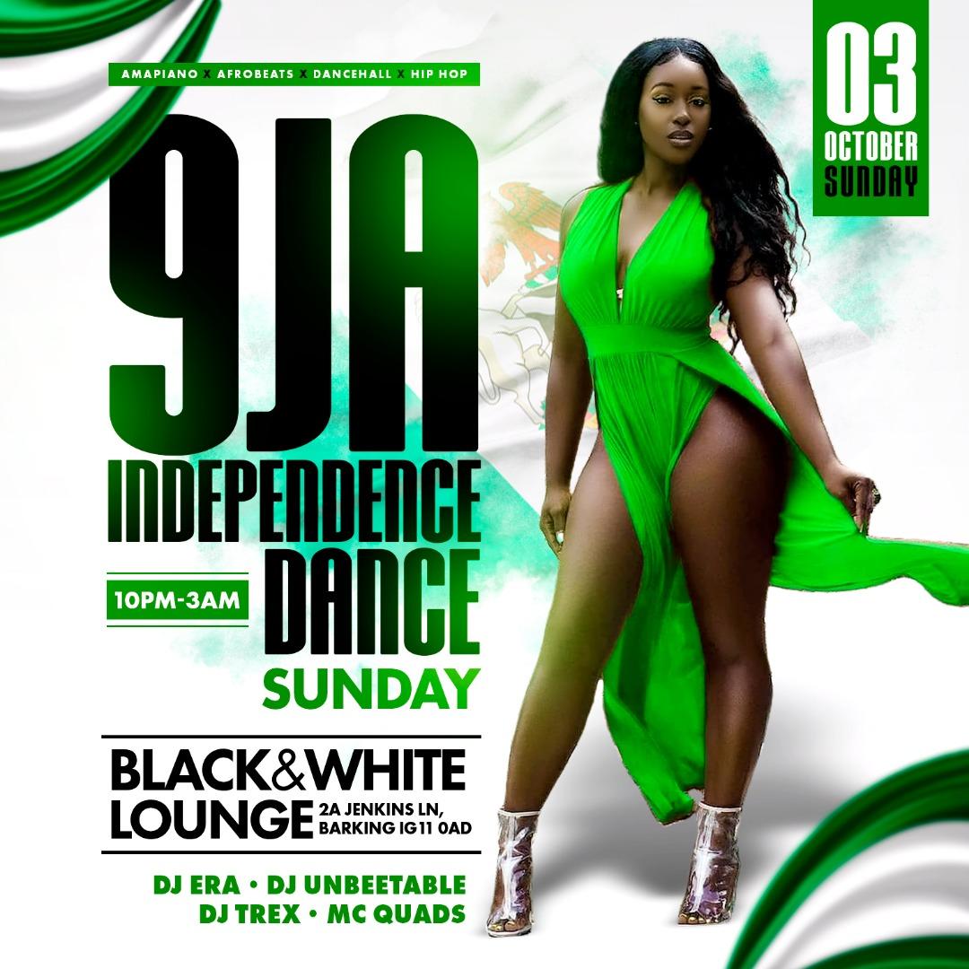 9JA INDEPENDENCE DANCE @BW LOUNGE SUNDAYS