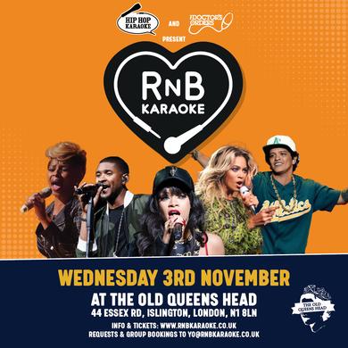 Hip-Hop Karaoke & TDO present: RnB Karaoke