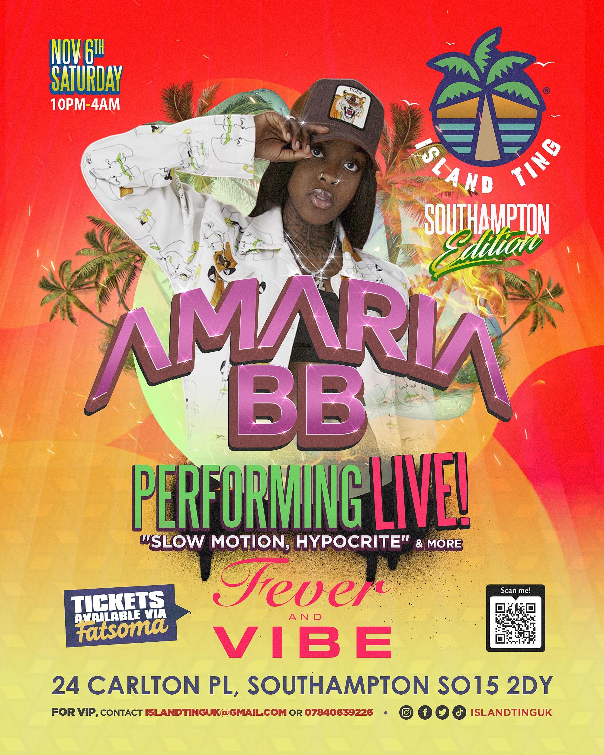 Amaria BB Live! Island Ting (Southampton)