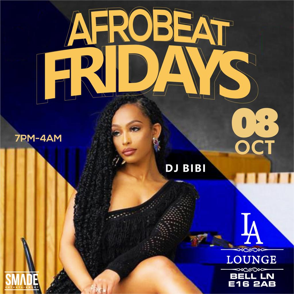 AfroBeat Fridays OCT 08