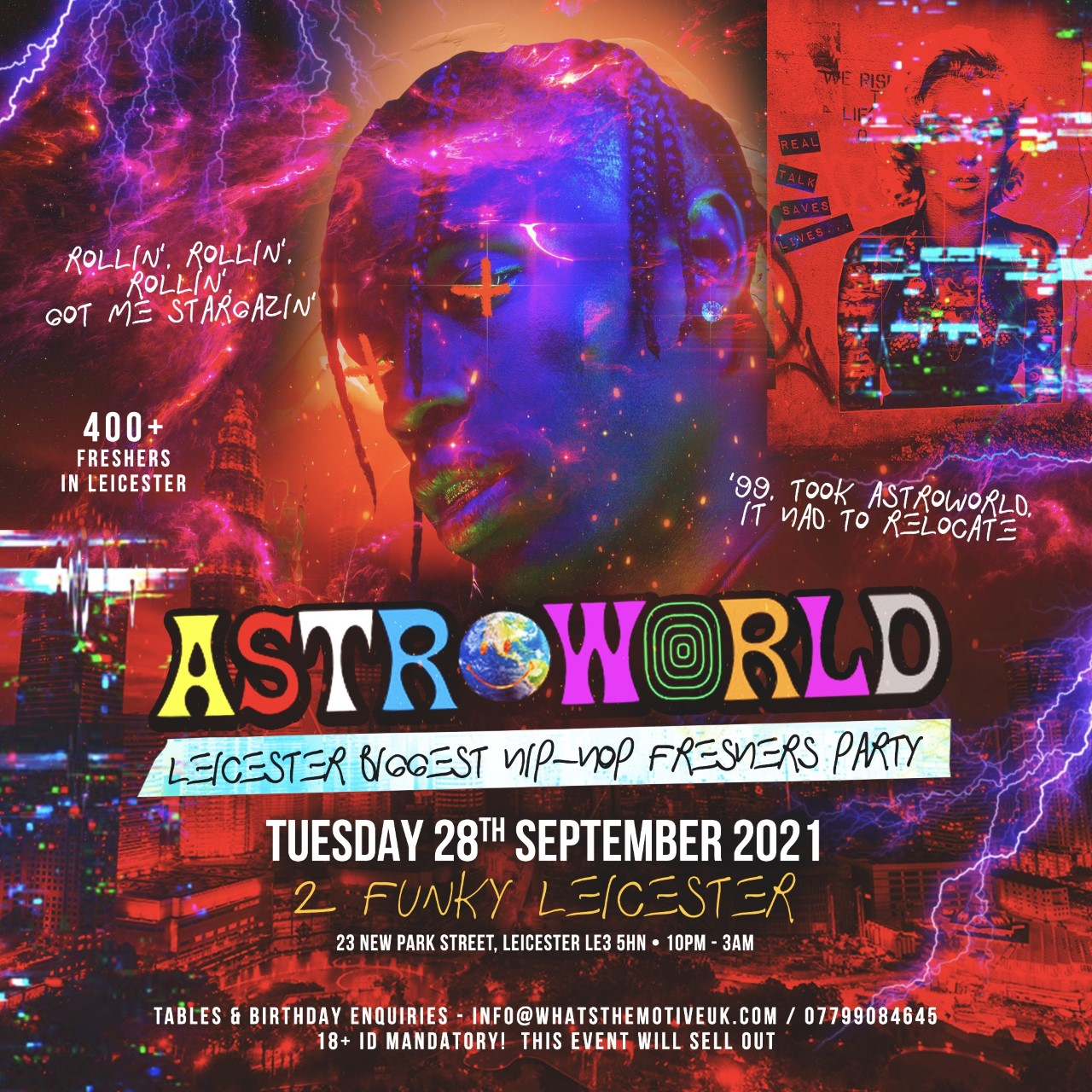 ASTROWORLD - Leicester's Biggest Hip-Hop Party