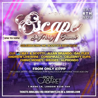 ESCAPE DAY PARTY / BRUNCH