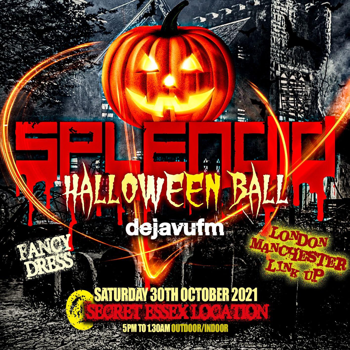 Splendid ft. Deja Vu FM: Halloween Ball
