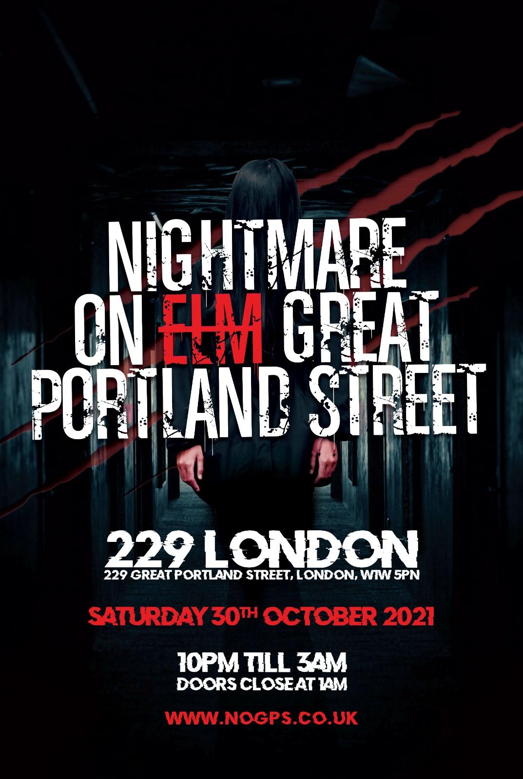 Nightmare On Great Portland Street