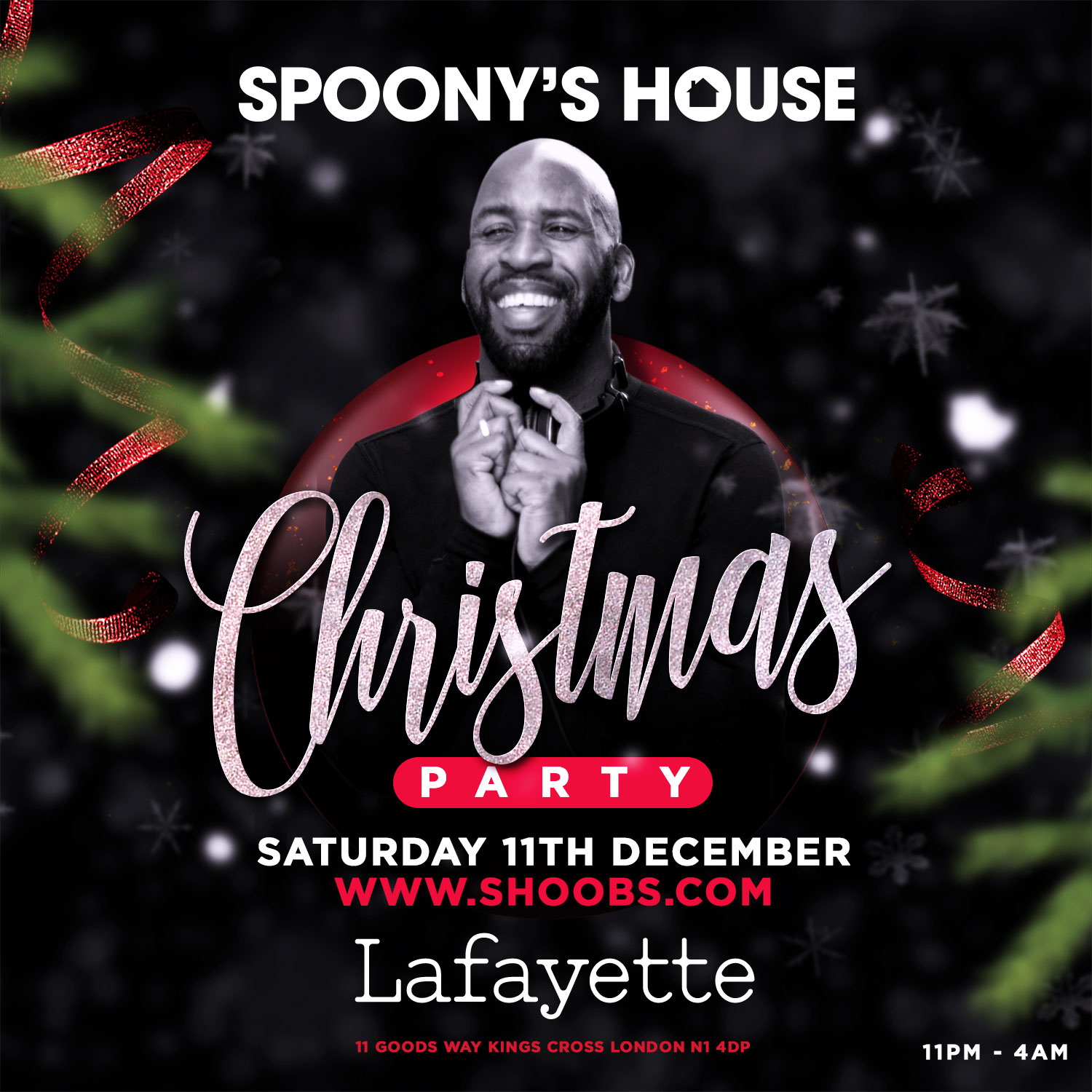 Spoony's House - Christmas Party