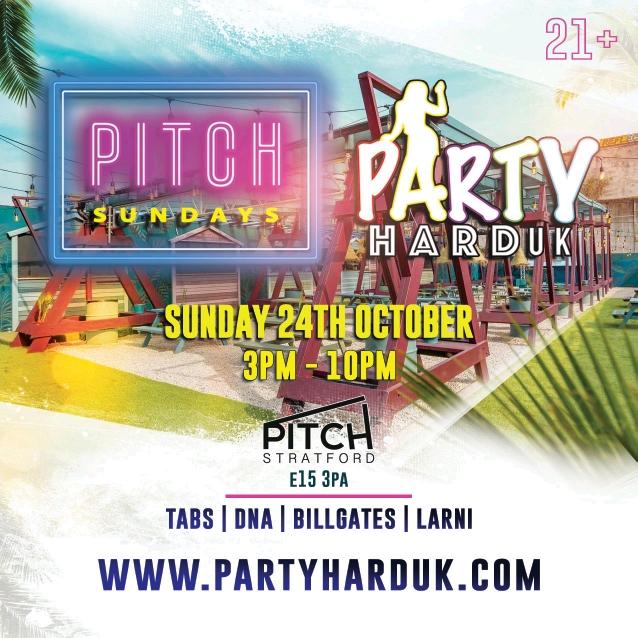 Party Hard UK & Pitch Sundays - Day Party