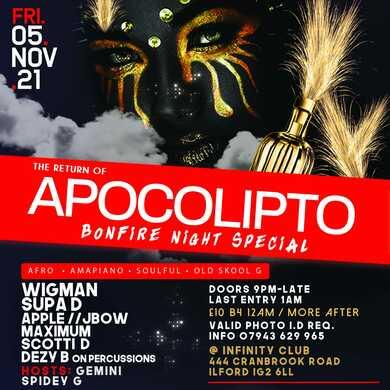 APOCOLIPTO Bonfire Night Special