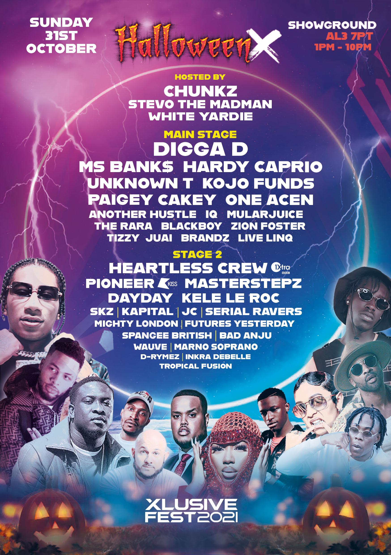 Xlusive Fest 2021 - Halloween X