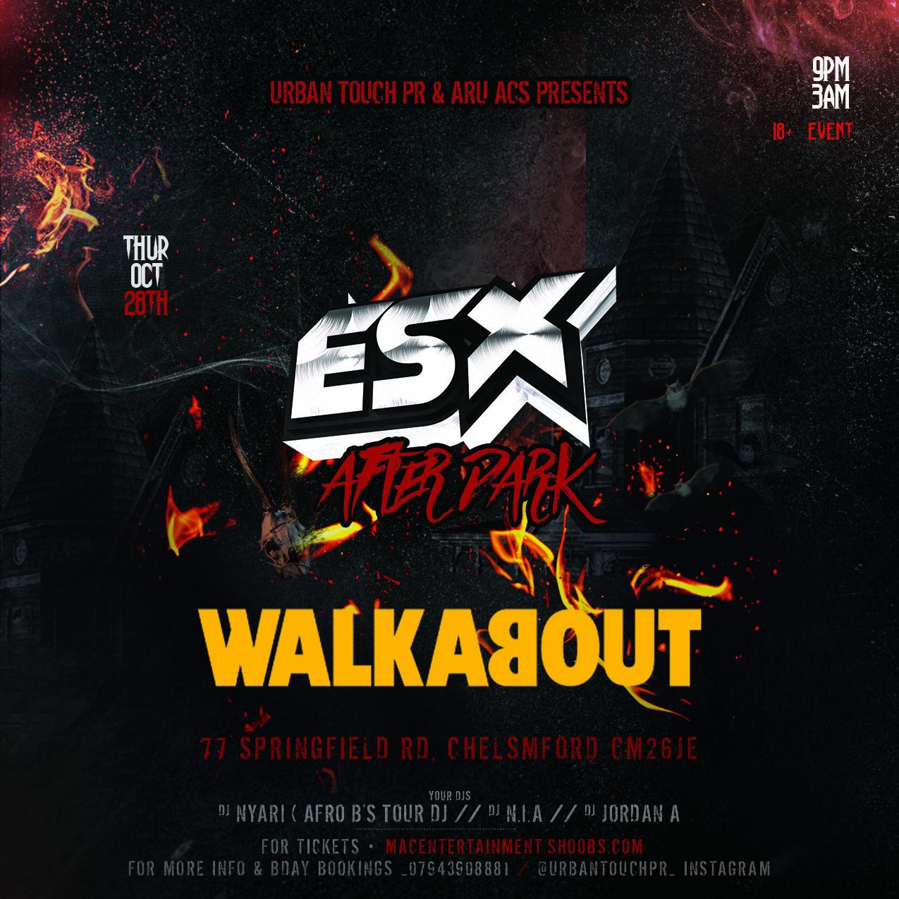 ESX AFTER DARK HALLOWEEN PARTY