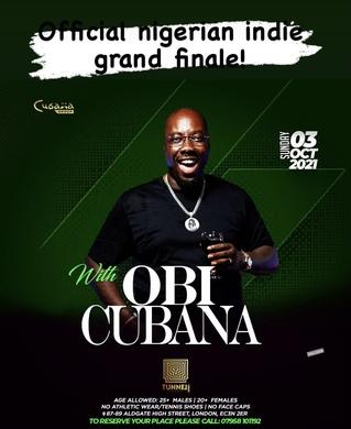 Obi Cubana: Nigerian Independence Day Grand Finale