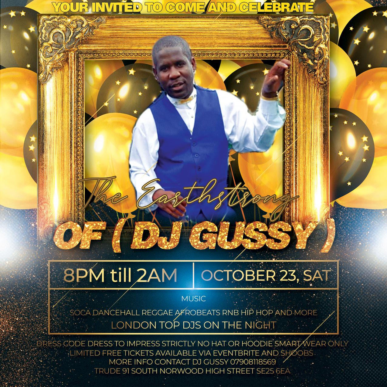 DJ Gussy Birthday celebration 23/10/2021