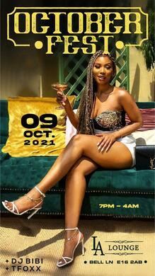 OctoberFest ♛ HipHop x Amapiano & Afrobeats ♛