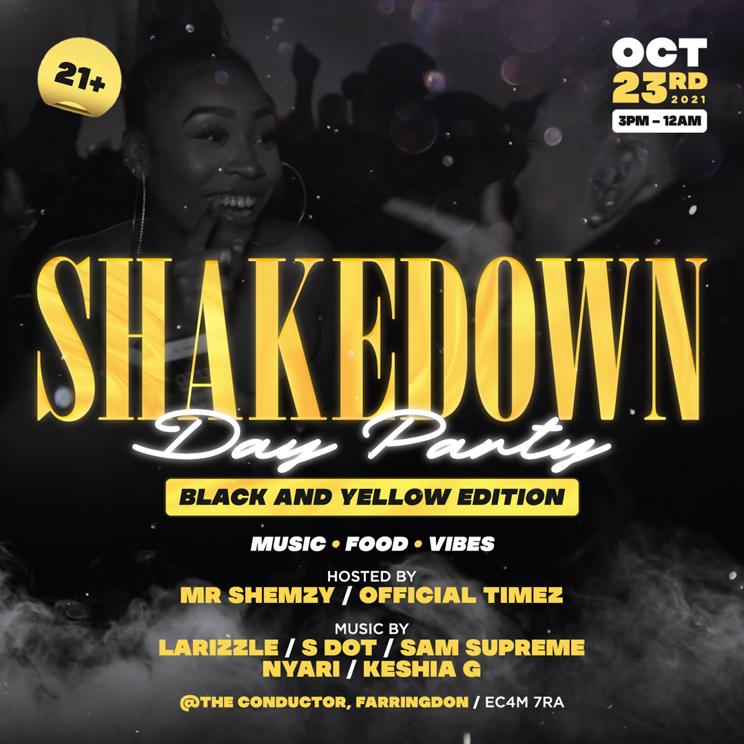 SHAKEDOWN DAY PARTY