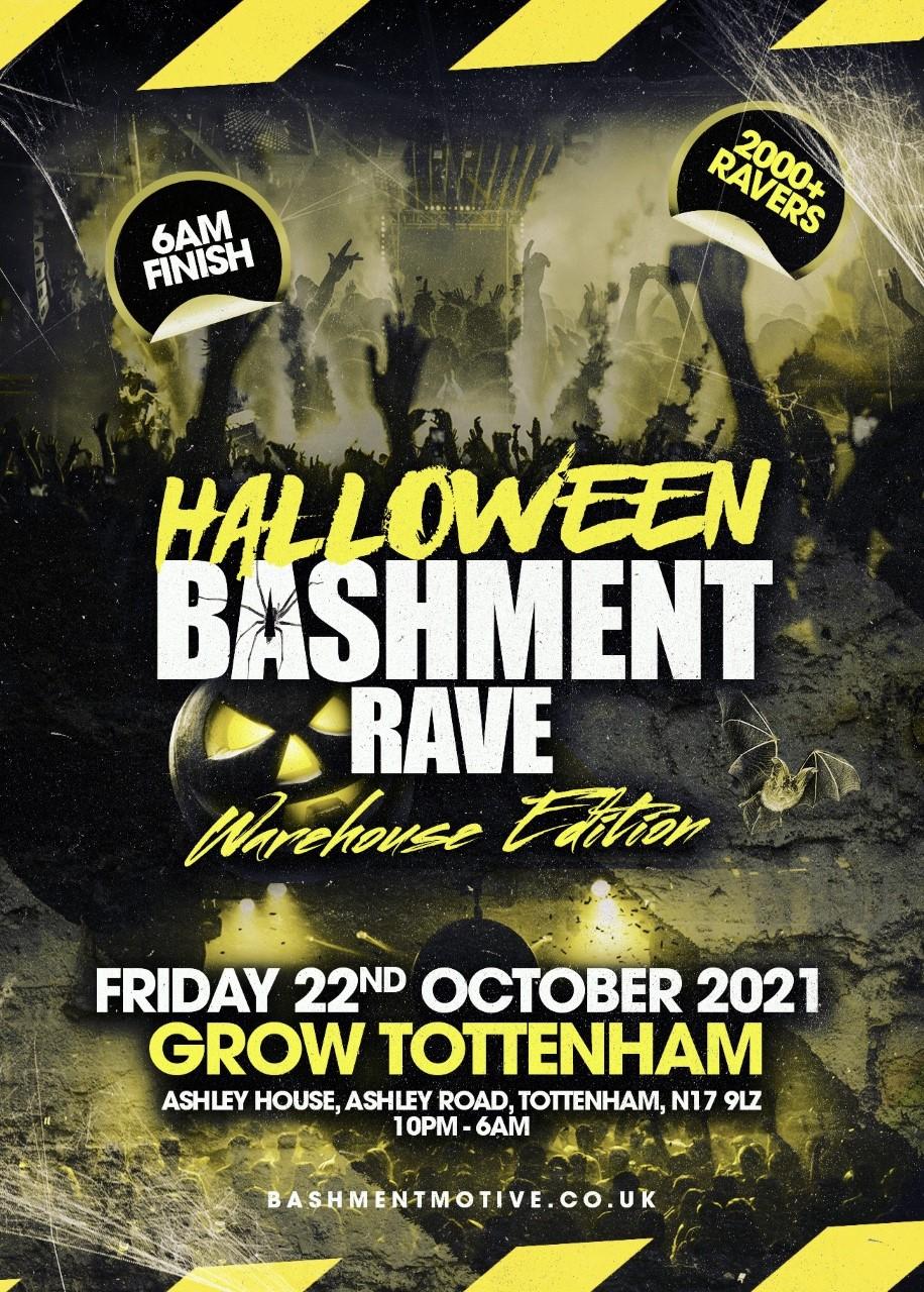 Halloween Bashment Rave - Warehouse Edition
