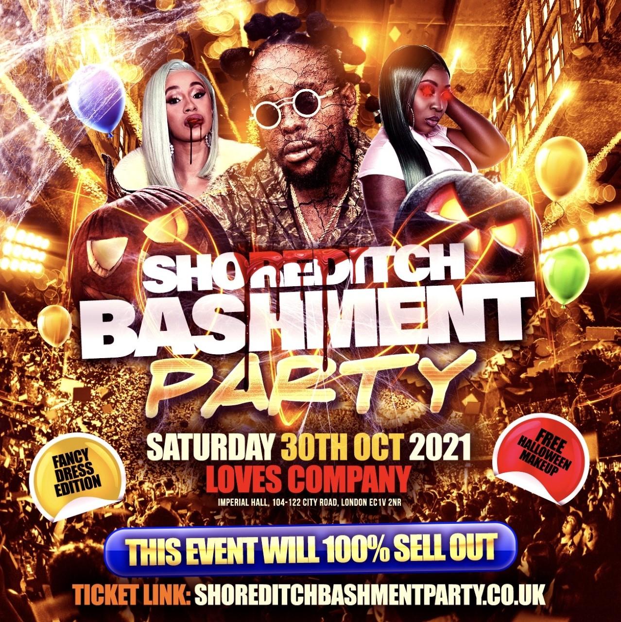 Shoreditch Bashment Party - Halloween Carnival