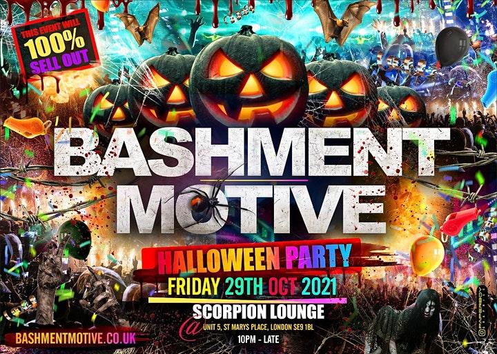 Bashment Motive - Shoreditch Party