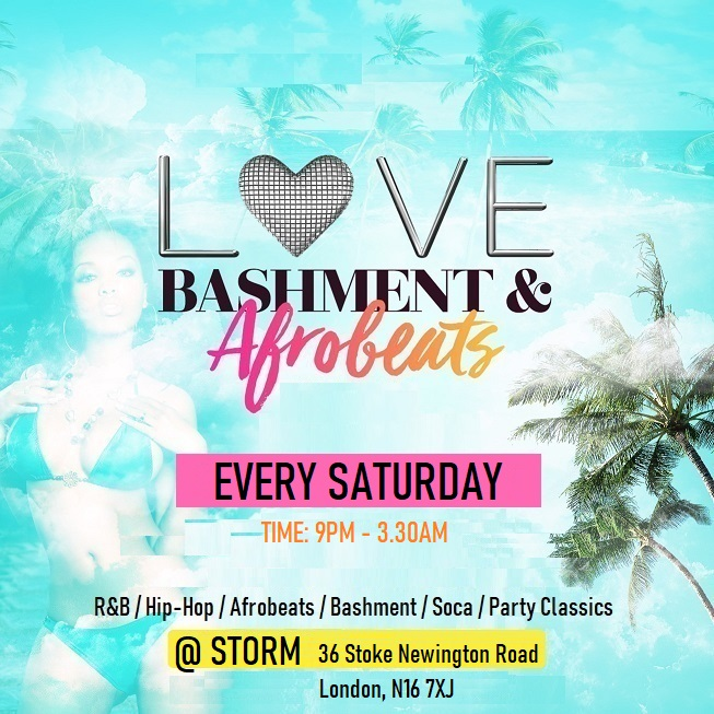 Love Bashment & Afrobeats Saturdays