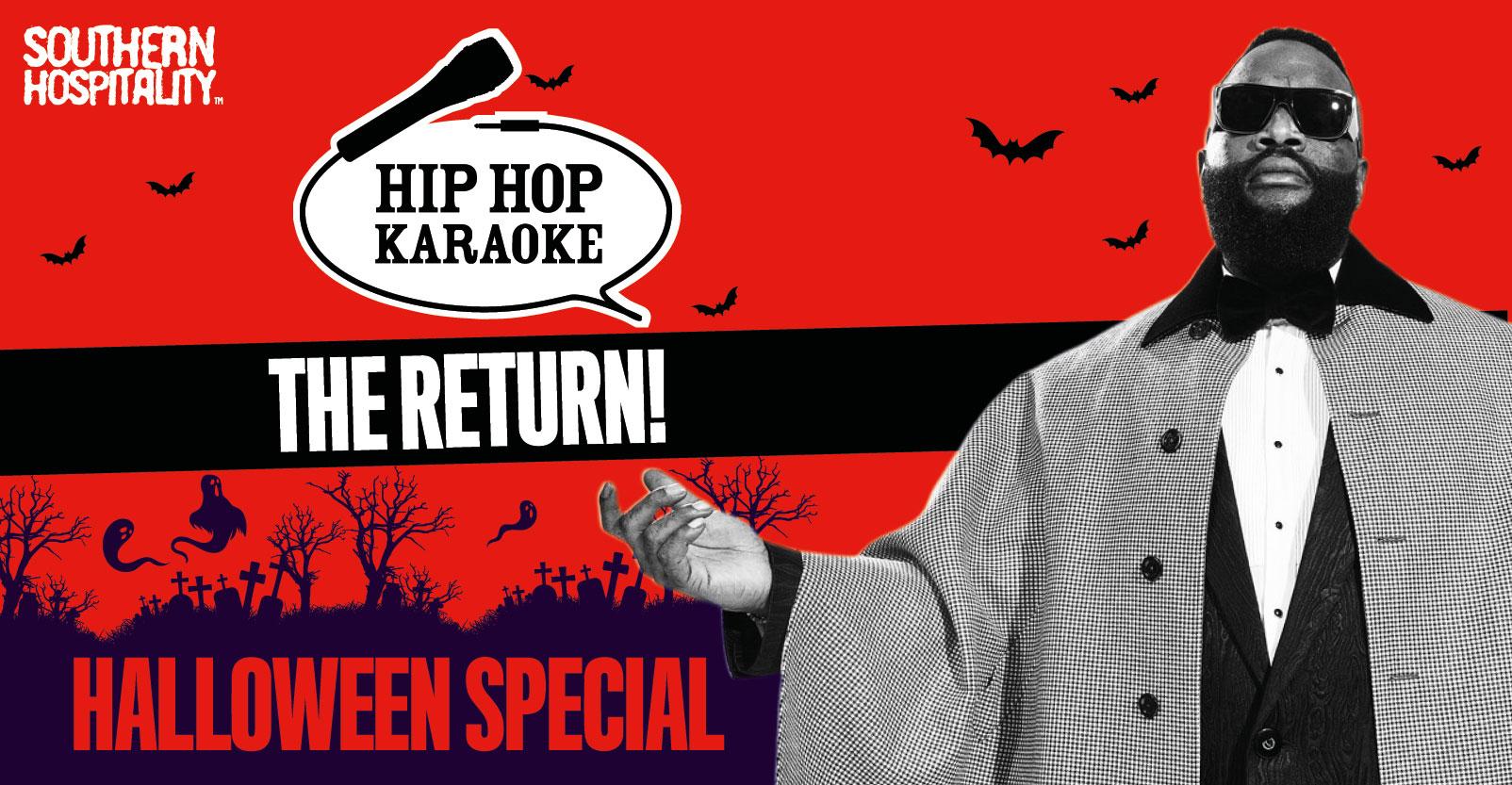 Hip Hop Karaoke - Halloween Week Special!